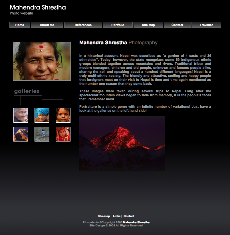 website-mahendra-shresta